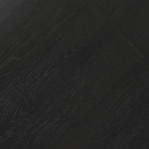 Паркетная доска Fine Art Floors Дуб Beluga Black браш лак 1-полосная 600-1900 х 150 х 15 мм gloss 10%