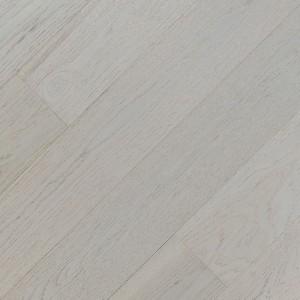 Паркетная доска Fine Art Floors Дуб Fuji White браш лак 1-полосная 600-1900 х 150 х 15 мм gloss 10%