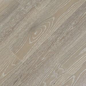 Паркетная доска Fine Art Floors Дуб Granite Grey браш лак 1-полосная 600-1900 х 150 х 15 мм gloss 10%