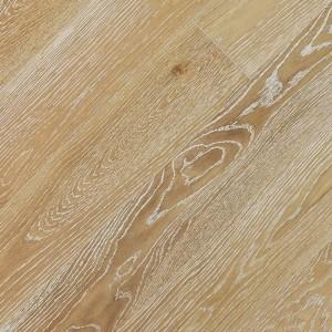 Паркетная доска Fine Art Floors Дуб Oxford White браш лак 1-полосная 600-1900 х 150 х 15 мм gloss 10%