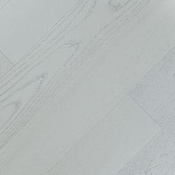 Инженерная доска Fine Art Floors Дуб Snow Queen Браш 600-1900 х 125 х 19 мм, лак
