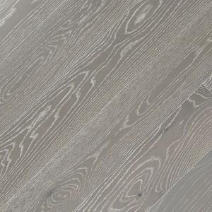 Паркетная доска Fine Art Floors Дуб Tundra Grey браш лак 1-полосная 600-1900 х 150 х 15 мм gloss 10%