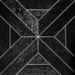 Модульный паркет Marco Ferutti Castello Дуб Неро браш, 450 х 450 х 15(3)