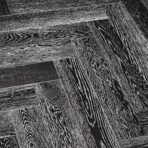Модульный паркет Marco Ferutti Hermitage Дуб Неро браш лак 610 x 122 x 15 мм