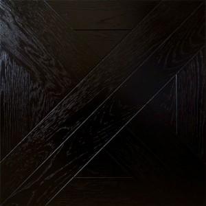 Модульный паркет Marco Ferutti Linea Дуб Черный браш 405 x 405 x 15 мм