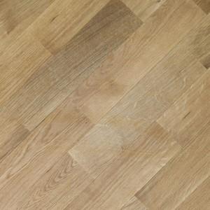 Массивная доска Романовский паркет Дуб Натур-Люкс (400-1800)х130х20, без покрытия