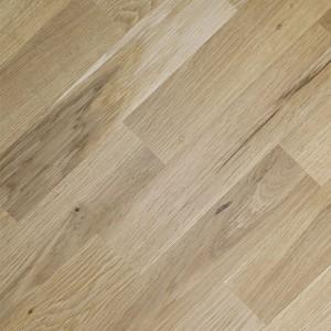 Массивная доска Романовский паркет Дуб Рустик (400-1800)х130х20, без покрытия