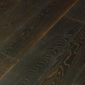 Паркетная доска Wood Bee Дуб Antik Black Story браш масло 1-полосная 1830 x 189 x 15 мм