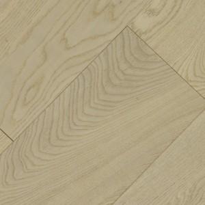 Инженерная доска Wood Bee Дуб Арктик лак 1200 x 125 x 12 мм