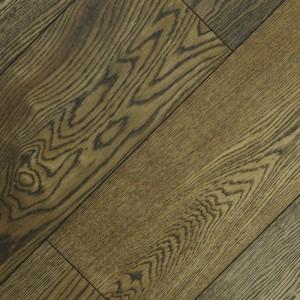 Паркетная доска Wood Bee Дуб Cottage браш лак 1-полосная 1860 x 189 x 15 мм