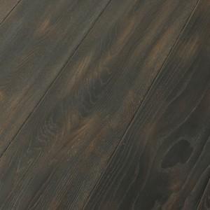 Паркетная доска Wood Bee Дуб Fog браш масло 1-полосная 1830 x 189 x 15 мм