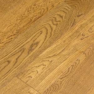 Инженерная доска Wood Bee Дуб Коньяк лак 1200 x 125 x 12 мм