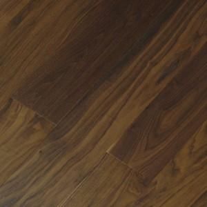 Паркетная доска Wood Bee Орех Американский лак 1-полосная 1860 x 189 x 15 мм Gloss 10%
