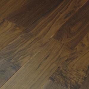 Инженерная доска Wood Bee Орех Американский лак 1200 x 125 x 12 мм Gloss 10%