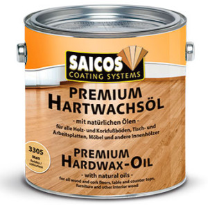 Масло с твердым воском без изменения цвета древесины Saicos Hartwachsol Premium Pur