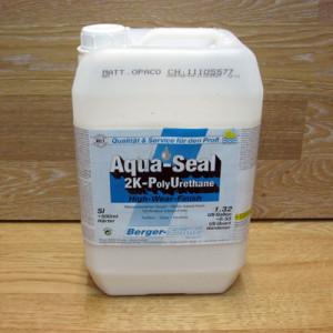 Двухкомпонентный полиуретановый лак на водной основе Berger Aqua-Seal 2KPU