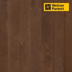 Двухслойный паркет Weitzer Parkett  WP 4100 Австрия Дуб Черный перец  spektrum, gefast , geburstet с фаской, брашированный  ProVital f