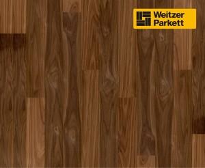 Двухслойный паркет Weitzer Parkett  WP 4100 Австрия Орех пропаренный select   ProVital