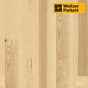 Двухслойный паркет Weitzer Parkett  WP 4100 Австрия Ясень struktur ProActive