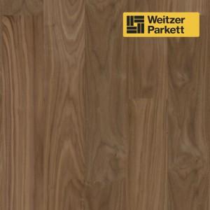 Двухслойный паркет Weitzer Parkett WP 4140 Австрия Орех пропаренный селект gefast  с фаской  ProVital f