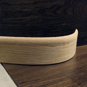 Гибкий комбинированный плинтус 60×16мм