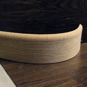 Гибкий комбинированный плинтус 60×8мм