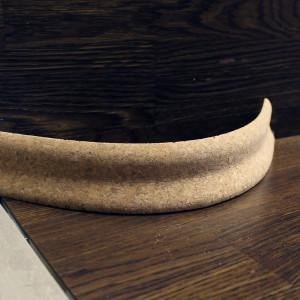Гибкий пробковый плинтус 40×20мм
