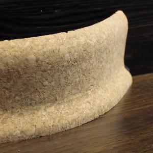 Гибкий пробковый плинтус 60×20мм