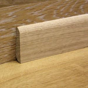 Массивный дубовый плинтус 60×16 мм