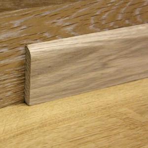 Массивный дубовый плинтус 60×8 мм