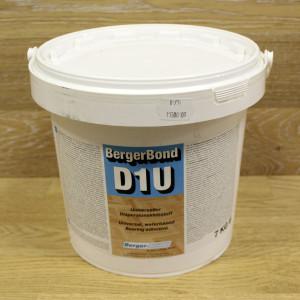 Однокомпонентный дисперсионный клей для ПВХ, резиновых и текстильных покрытий, винила, линолеума BergerBond D1U