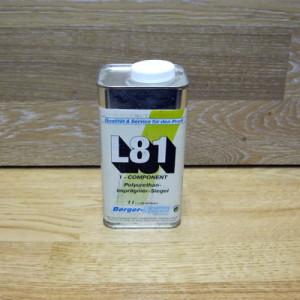Однокомпонентный поджигающий полиуретановый грунтовочный лак Berger L81