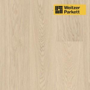 Однополосная паркетная доска со звукопоглощающим слоем Weitzer Parkett 2.224 Австрия Дуб Чистый селект gefast с фаской ProActive