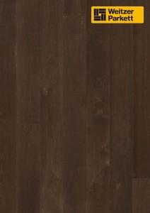 Однополосная паркетная доска Weitzer Parkett Charisma Einblatt Австрия Дуб Черный Перец spektrum gefast geburstet с фаской, брашированный ProVital