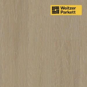 Однополосная паркетная доска Weitzer Parkett Langdiele Австрия Дуб Имбирь селект gefast geburstet с фаской, брашированный ProVital f