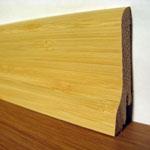 Шпонированный плинтус Burkle шпон светлого бамбука