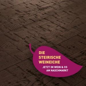 Штирийский Винный дуб. Трехслойная доска Weitzer Parkett Steirische Weineiche