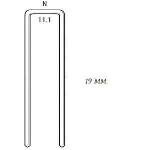Скоба типа N для скобозабивного пневмопистолета SENCO