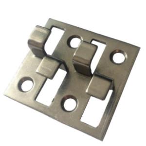 Скрытый металлический крепеж для террасной или фасадной доски Инвитай ИН2, ИН4 ДекТай