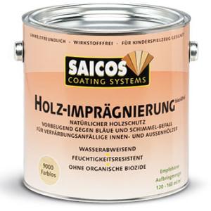 Пропитка для древесины во внутренних помещениях Saicos HOLZ-IMPRÄGNIERUNG biozidfrei