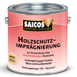 Защитная пропитка для древесины Saicos Holzschutz-Impragnierung