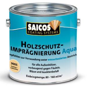 Защитная пропитка для древесины Saicos Holzschutz-Impragnierung Aqua