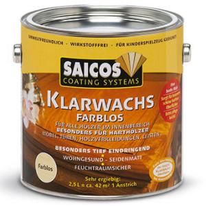 Бесцветный прозрачный воск Saicos Klarwachs
