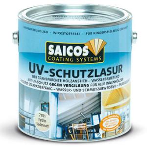 Защитная лазурь от УФ-лучей для внутренних работ Saicos UV-schutzlasur innen