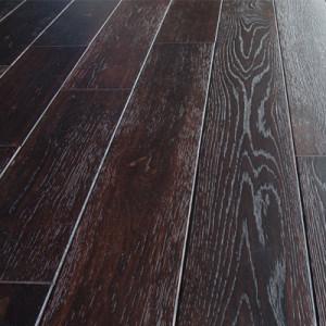 Массивная доска Magestik Floor — Дуб Мокка (браш)