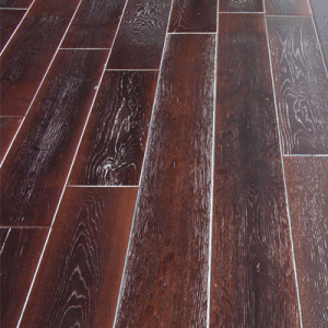 Массивная доска Magestik Floor — Дуб Мокка Милк (браш)